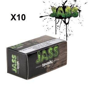 JASS Rolls Slim BROWN Lot de 10 (Roll's Slim)