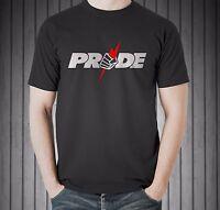 New Pride FC MMA Fedor Emelianenko Mirko Crocop Sakuraba Black T-shirt Size S-5X