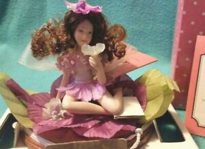 PARADISE GALLERIESLittle Flower Fairies figurine ~MORNING GLORY~ Patricia Rose
