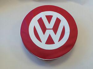 Madmatz Quality Volkswagen VW T2 BAY Window Spare Wheel cover Lollipop off white