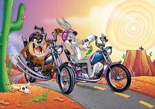 Papel Pintado Mural Para Infantil dormitorio Looney Tunes DIBUJO MOTO Foto pared