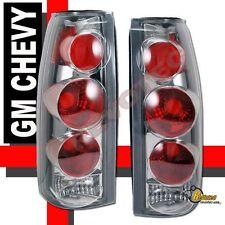 88-98 Chevy GMC C/K C10 1500 2500 3500 Pickup Truck Tail Lights Chrome
