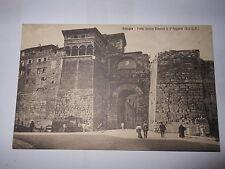 Cartolina Perugia Porta Urbica Etrusca o d'Augusto  (1928) (CB211 ) ^