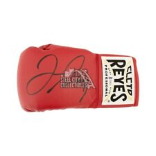 Floyd Mayweather Autographed Cleto Reyes Red Boxing Glove - BAS COA