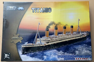 Titanic 3D Puzzle - 103cm Long - 392 Pieces