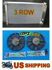 Aluminum Radiator Pontiac Firebird Trans Am 1970-1981 1976 1977 1978 1980 + fans