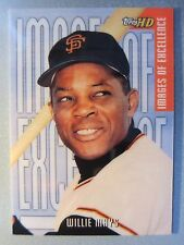 *Rare* 2001 Topps HD Images of Excellence #IE1 Willie Mays