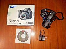 Samsung NX30 Mirrorless Digital Camera with 18-55mm f/3.5-5.6 OIS Lens