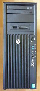 HP Z420 - Xeon E5-1620, 4G DDR3, Win7/8 Pro, 256 GB M2 SSD, FirePro W7000
