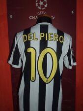 DEL PIERO JUVENTUS 2009-10 MAGLIA SHIRT CALCIO FOOTBALL MAILLOT JERSEY CAMISETA