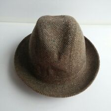 Vtg Pedigree Fifth Avenue Men's Wool Blend Fedora Hat Size Small 6 3/4 to 6 7/8