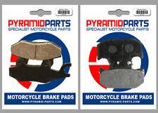 Front & Rear Brake Pads for Yamaha TT250 R 93-04 XTZ250 Lander (Brazil) 07-09