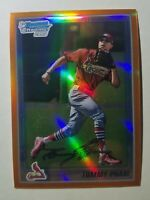 2010 Bowman Chrome Tommy Pham San Diego Padres Orange Purple Refractor Rookie