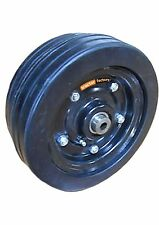Heavy Duty Commercial Finishing Mower Wheel With Greaseable Bearings