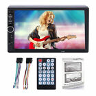 Mp5 Player 7In Double 2Din Car Fm Stereo Radio Touch Screen Bt Audio Usb Tf Aux