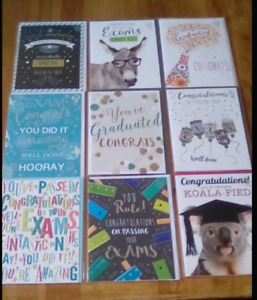congratulations on your graduation passing your exams card assorted designs new