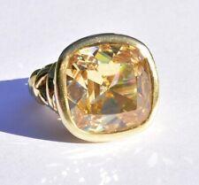 Adria de Haume Gem Gold Ring 18k