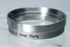 LEICA E. LEITZ NY SUMMITAR FILTER TO A36 LENS CLAMP ON ADAPTER 13079 / SOOTF #2