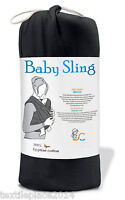 BABY SLING STRETCHY WRAP CARRIER BREASTFEEDING  BIRTH TO 3YRS