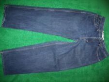 Mens ENYCE all cotton loose fit blue jeans size 34x31