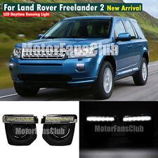 LED Daytime Running Light DRL For Land Rover Freelander 2 Fog Kit 2011 ~ 2014