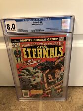 The Eternals 4 CGC 8.0 Jack Kirby Cover MCU 2nd Appearance of Sersi