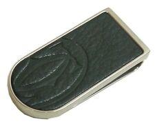 Authentic Cartier Money Clip Wallet Black Metallic #8268