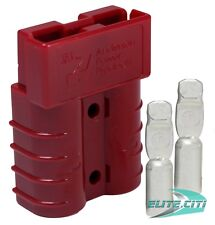 Anderson SB50 ® Connector Kit, 50 Amps Red Housing, w/  6 AWG Contact, 6331G1