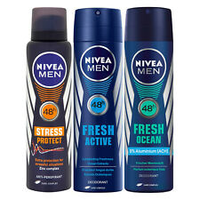 NIVEA DEODORANT ANTIPERSPIRANT FORMEN Spray 150ml Selected Pack and Scent