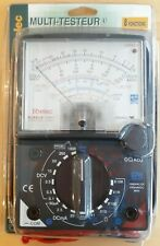 TIBELEC ANALOGUE Multi-meter & Tester REF. 976530/2/4 Brand New & Unopened Black