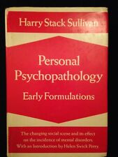 Harry Stack Sullivan's Personal Psychotherapy, First Edition, Hardcover