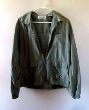 Oleg Cassini Golf Sport Womens Jacket Sz L Green