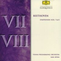 -Beethoven Symphonies 7 & 8 CD  Bohm, Vienna PO New