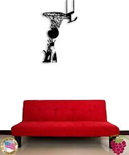 Wall Sticker Basketball Sport Cool Modern Decor for Living Room z1381