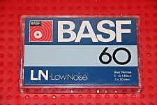BASF  LH LOW NOISE 60   BLANK CASSETTE TAPE (1) (SEALED)