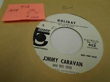 Jimmy Caravan Holiday/Higher and Higher 45 RPM Tower VG+ Funk psych