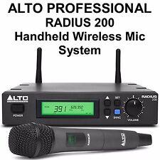 Alto Professional Radius 200 Wireless Handheld Mic System