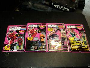 1992 vintage g.i joe figures lot ninja force