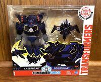 Laserbeak & Soundwave Transformers Combiner Force Figures Set New NIB Hasbro