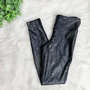 KORAL NWOT Black & White Snake Animal Printed Black Leggings Size S Small