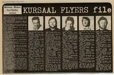 Kursaal Flyers UK Band File