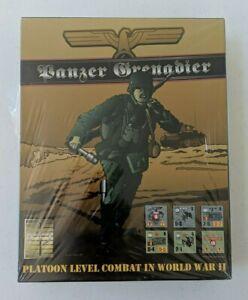 Panzer Grenadier #APL0301 (1991, Avalanche Press)New in Shrink!