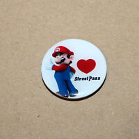 Nintendo Super Mario StreetPass rare Promo Pin