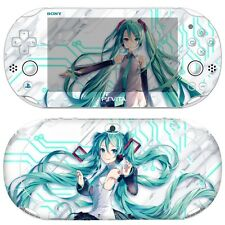 Skin Decal Stickers For PS Vita Slim PCH-2000 Series Hatsune Miku #02+Free Gift