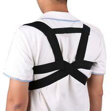 US Posture Corrector Support Magnetic Back Shoulder Brace Belt For Men Women