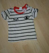 **Guter Zustand**H&M,Baby Jungen T-Shirt,gebraucht,weiß,Gr.62