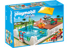 Playmobil 5575 Swimming Pool with Terrace City Life Water Toy Kids NEW