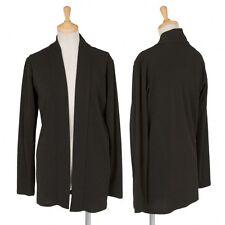 (SALE) Yohji Yamamoto NOIR buttonless cardigan Size 3(K-18015)