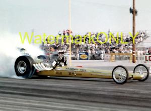 """""""T.V."""" Tommy Ivo 1960s Front Engine """"SlingShot"""" Top Fuel Dragster PHOTO! #(10)"""