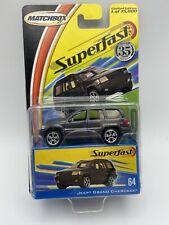 Matchbox Superfast 35th Anniversary Jeep Grand Cherokee Grey 1/64 FREE SHIPPING
